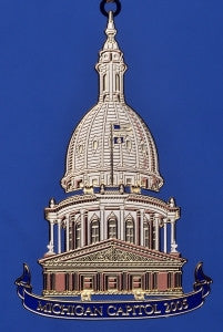 2005 Michigan Capitol Ornament