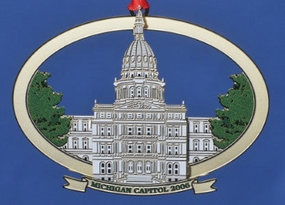 2006 Michigan Capitol Ornament