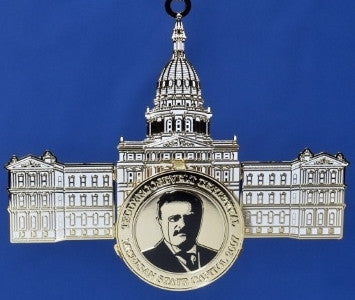 2007 Michigan Capitol Ornament