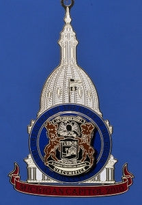 2010 Michigan Capitol Ornament