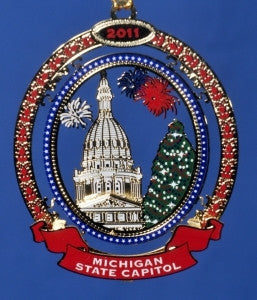 2011 Michigan Capitol Ornament