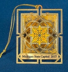 2017 Michigan Capitol Ornament
