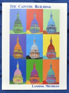Colorful Capitol Poster