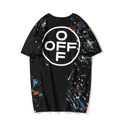 2020 Summer Hip Hop Fireworks Graffiti Tshirt Mens Casual O-Neck Streetwear - Jason Christopher Store