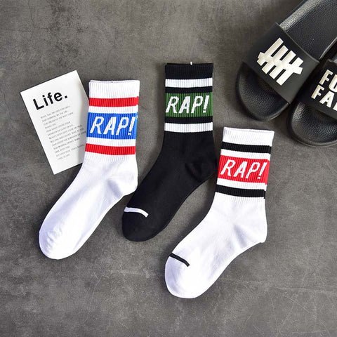 Streetwear Rap mid size socks - Jason Christopher Store