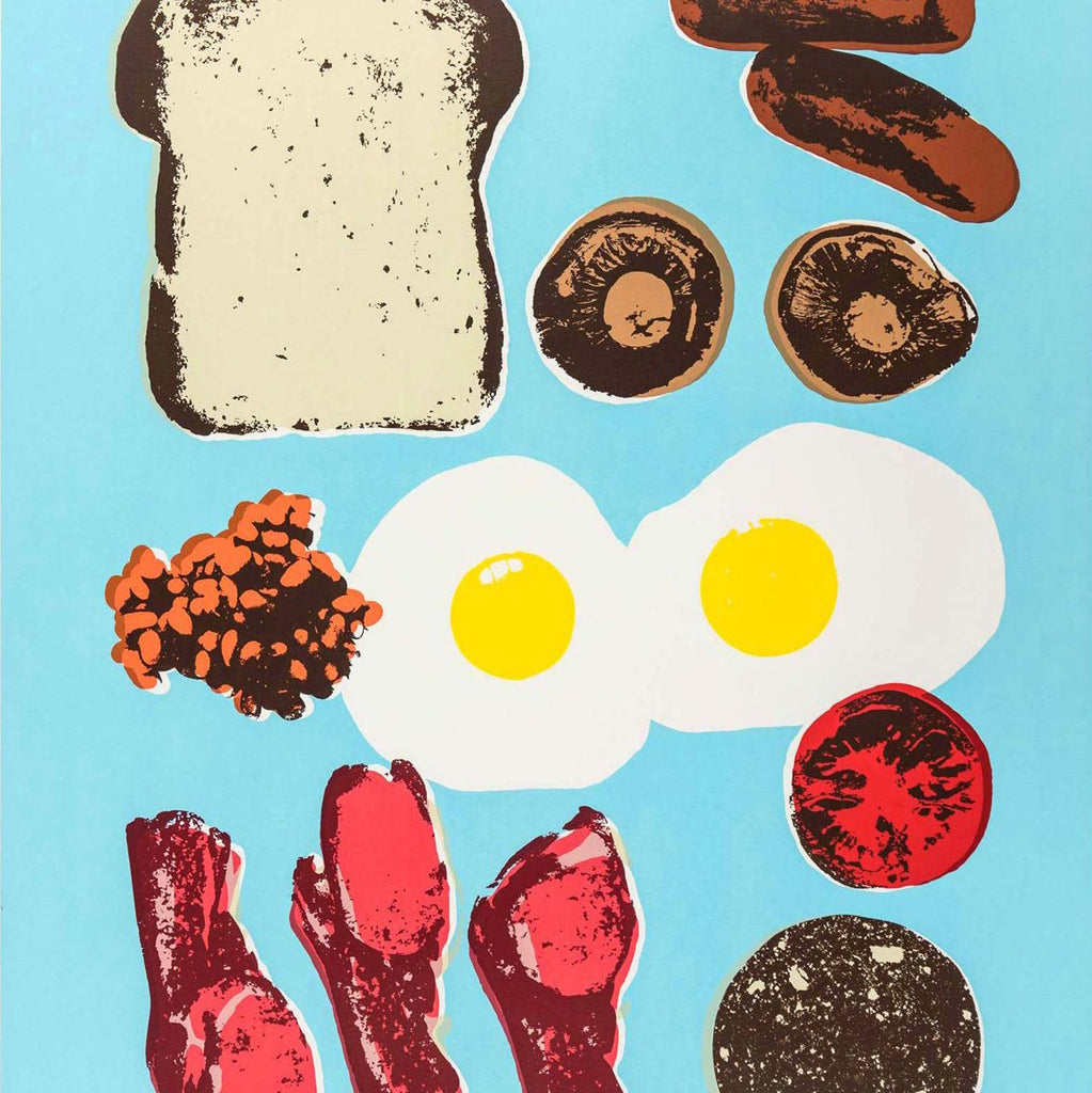 Food Art Exhibition: The Full English