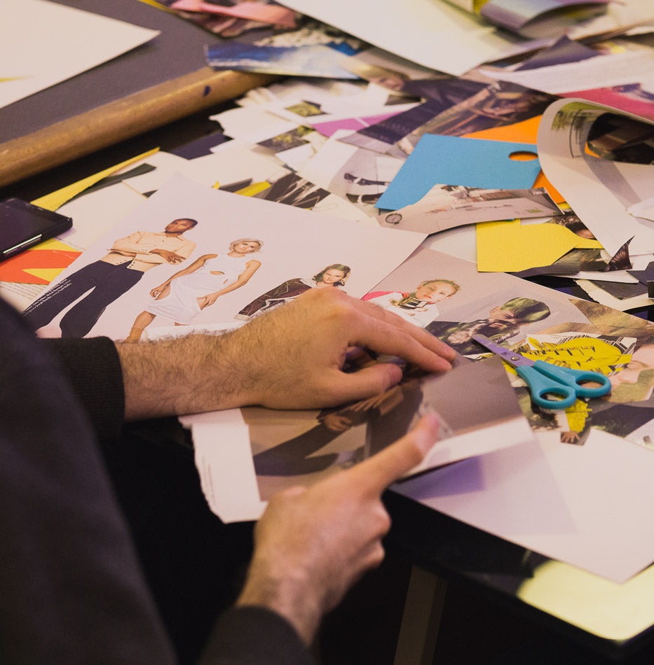 Creative Workshop: Collage Club for Carnaby Style Weekender in association with GQ