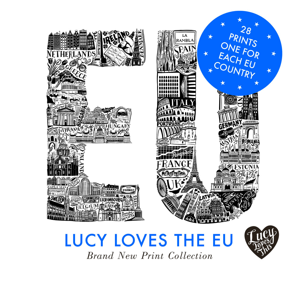 Exhibition: 'Lucy Loves The EU' by LucyLovesThis