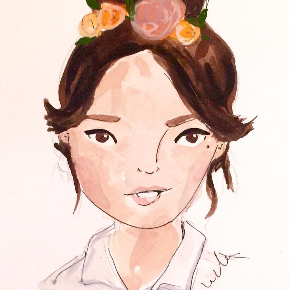 Live portraits with London illustrator Ella Masters