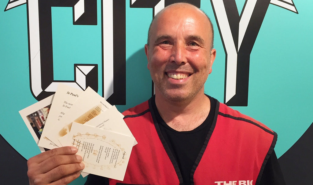 WBTC partners with local Big Issue vendor to sell his poems