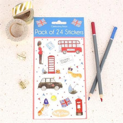 Celebrating Britain Pack of 24 Stickers
