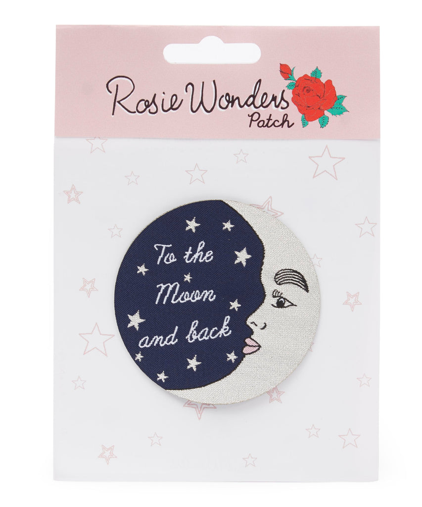 To The Moon and Back Embroidered Patch Pins & Patches Rosie Wonders for We Built This City 2
