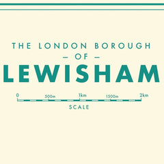 Lewisham Map