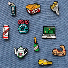 Shoreditch Laptop Enamel Pin