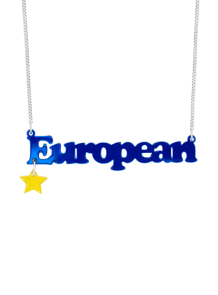 European Necklace Jewellery - Necklace Tatty Devine for We Built This City 2