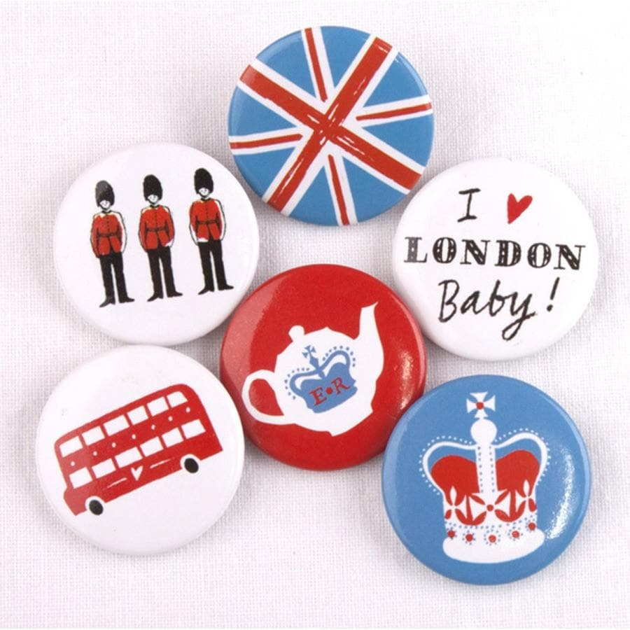 London Button Badges Pins & Patches Alice Tait for We Built This City 2