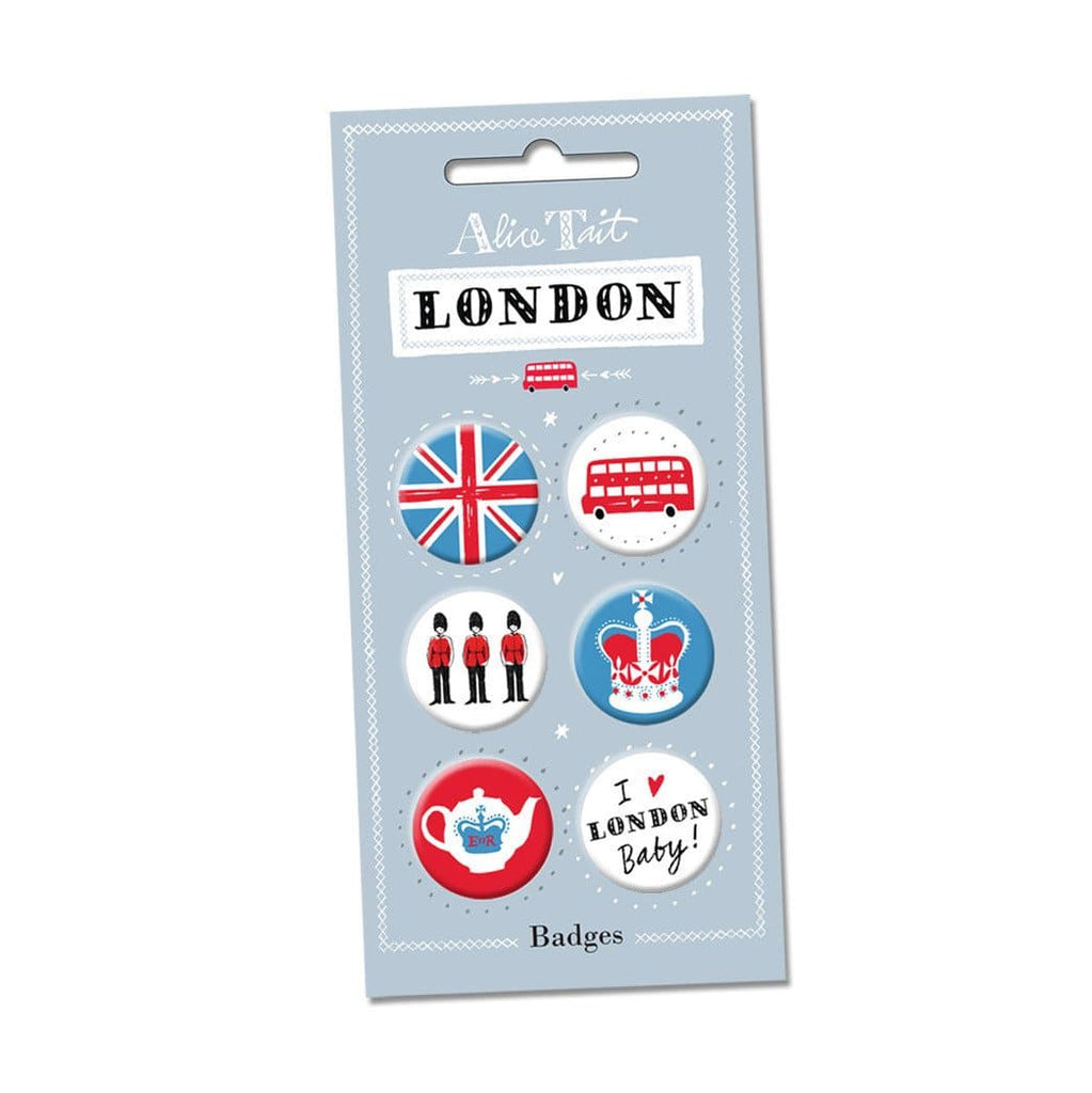 London Button Badges Pins & Patches Alice Tait for We Built This City 1