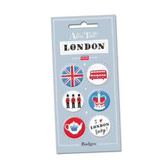 London Button Badges