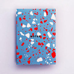 Blue Terrazzo Notebook Stationery & Craft - Notebooks The Completist for We Built This City 2