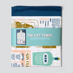 The G & T Towel Kitchen Textiles - Teatowels Stuart Gardiner for We Built This City 2