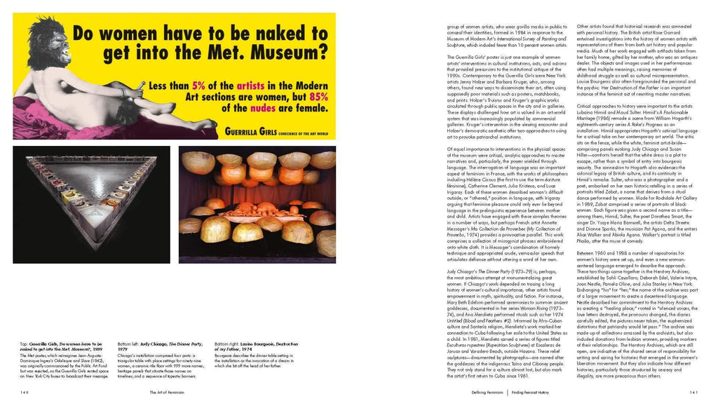 The Art of Feminism Book Books Bookspeed for We Built This City 3