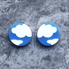 Cloud Stud Earrings Jewellery - Earrings No Basic Bombshell for We Built This City 2