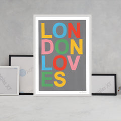 London Loves Art Typography Oli Fowler for We Built This City 3