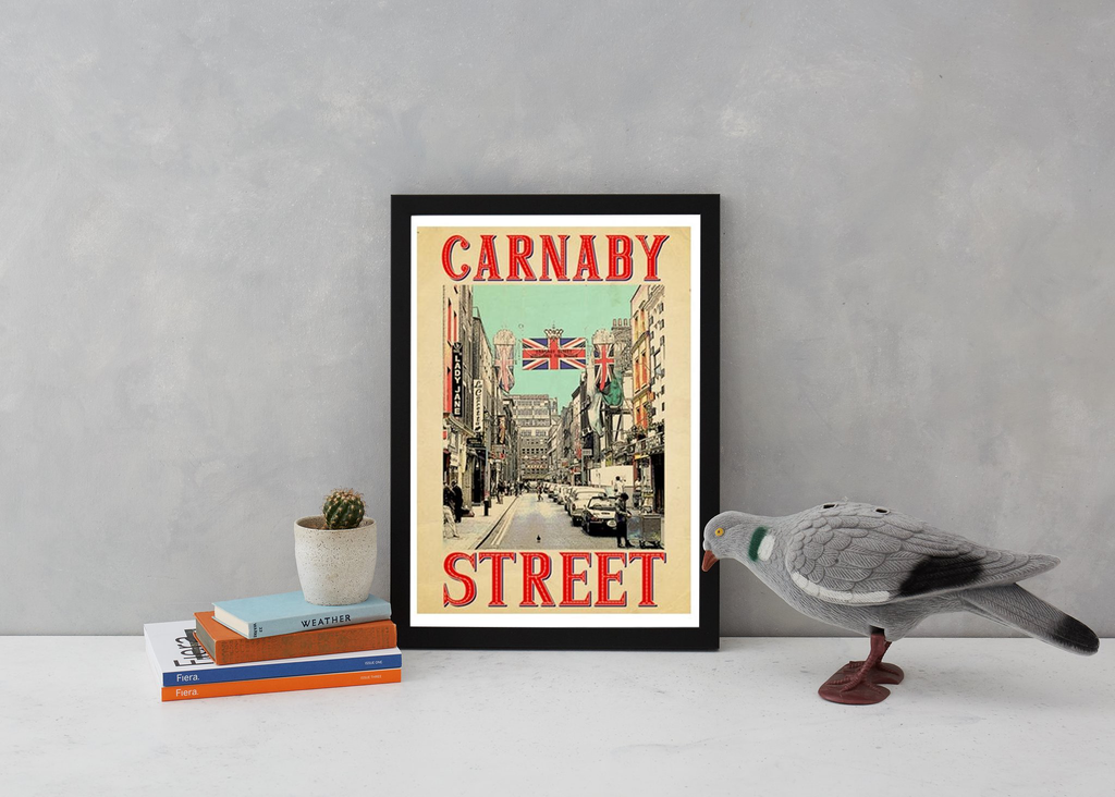 Retro Carnaby Art Landmark Indieprints for We Built This City 3