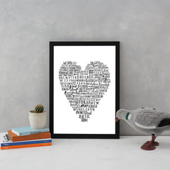 My Heart Belongs To London Art Typography Karin Akesson Design for We Built This City 4