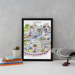 London Mapped Out Art Map Maisie Paradise Shearring for We Built This City 2
