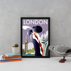 London Art Deco Woman Art Lifestyle Dave Thompson for We Built This City 3