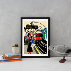 The Tube Art Landmark Paul Thurlby for We Built This City 2
