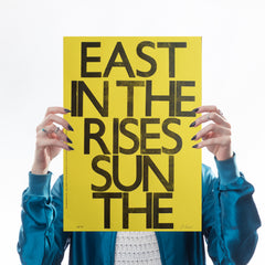East In The Rises Sun The
