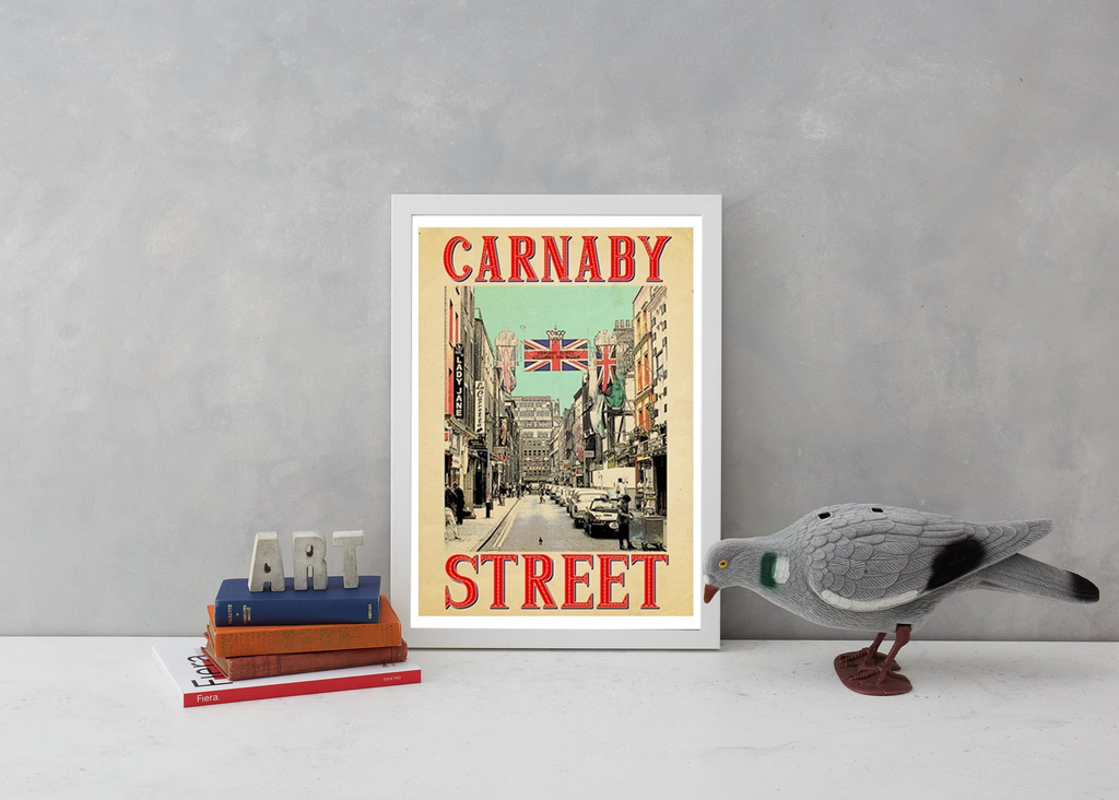 Retro Carnaby Art Landmark Indieprints for We Built This City 2