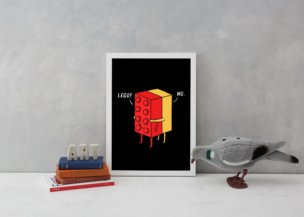 I'll Never Lego Art Humour Lim Heng Swee for We Built This City 3
