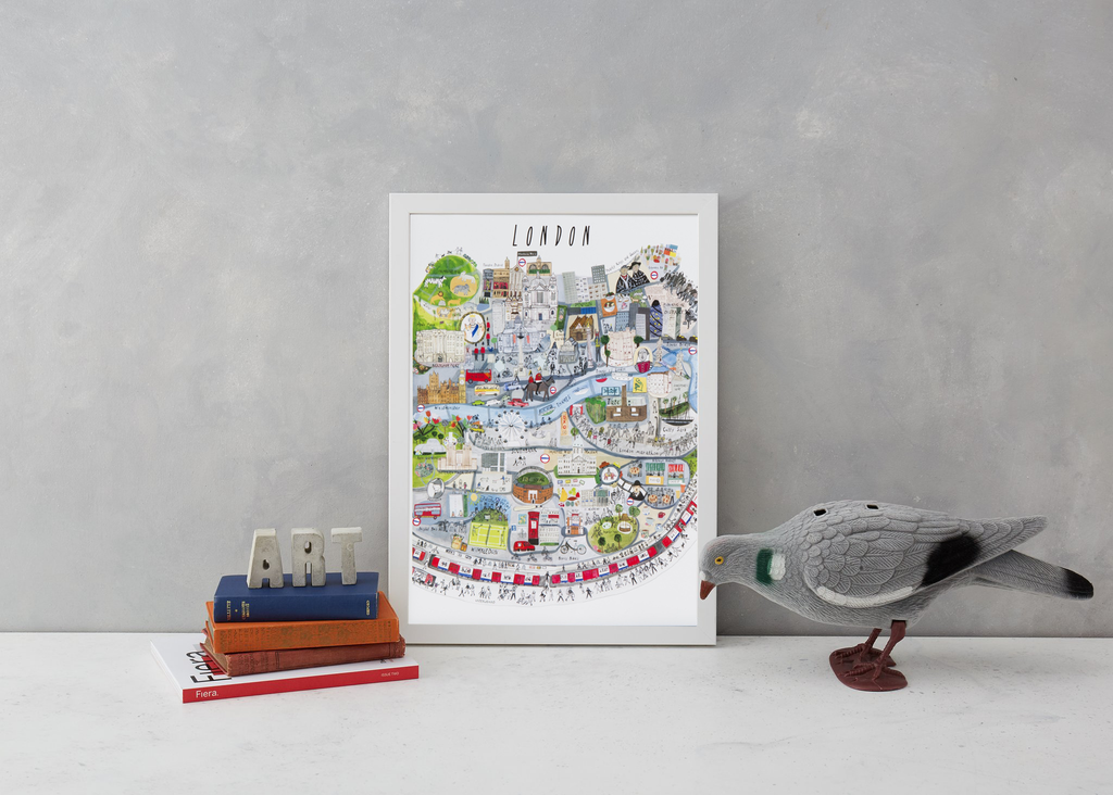 London Mapped Out Art Map Maisie Paradise Shearring for We Built This City 3