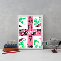Carnaby Union (Pink & Emerald)