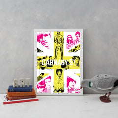 Carnaby Union (Fuchsia & Yellow) Art Culture Art & Hue for We Built This City 3