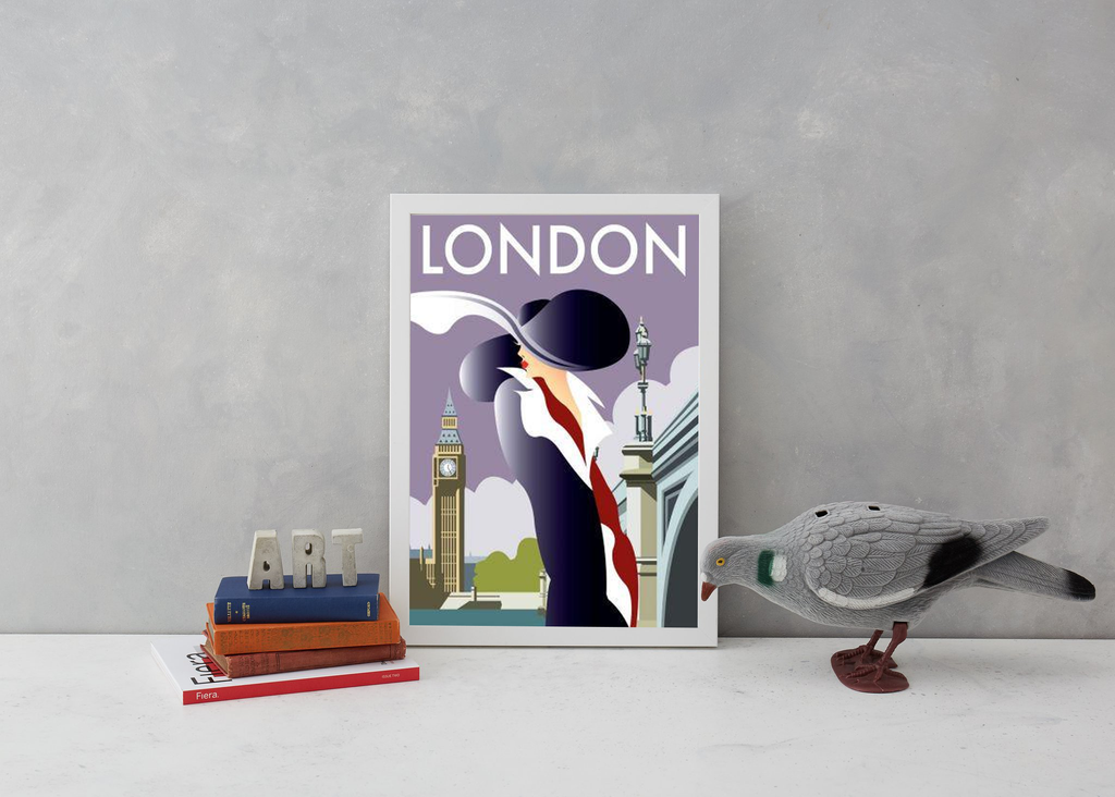 London Art Deco Woman