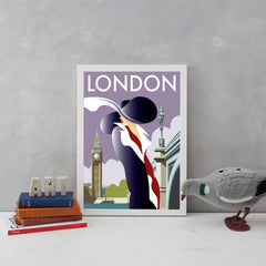 London Art Deco Woman Art Lifestyle Dave Thompson for We Built This City 4