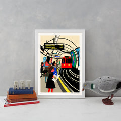 The Tube Art Landmark Paul Thurlby for We Built This City 3