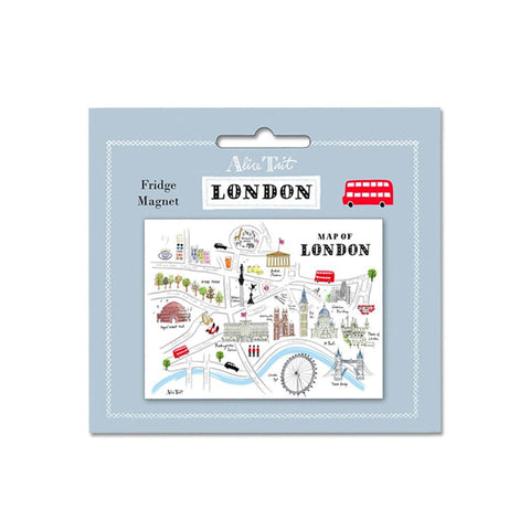 London Map Magnet