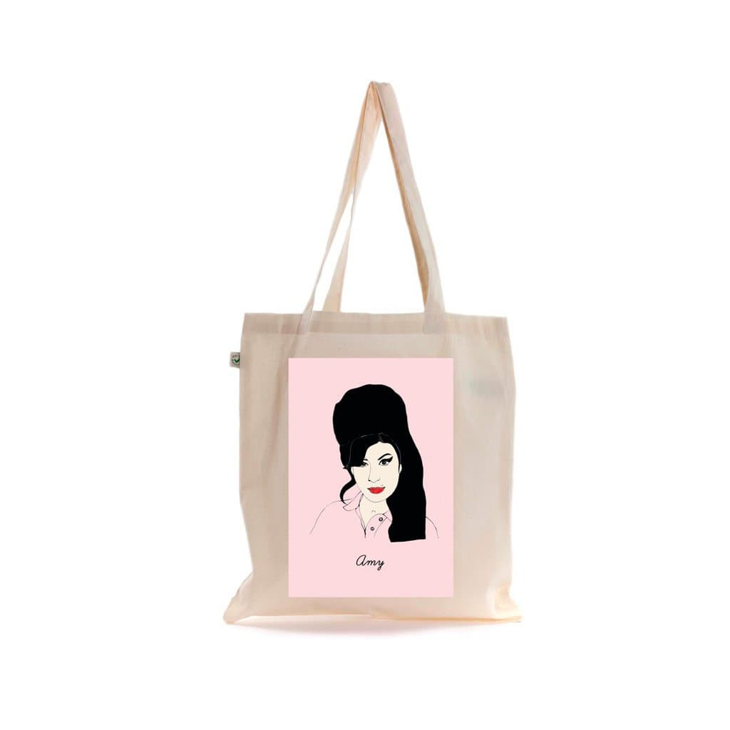 Amy Winehouse Tote Bag Fashion - Tote Rosie Wonders for We Built This City 1