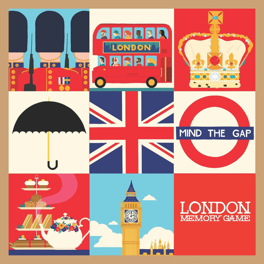 Mind The Gap London Memory Game