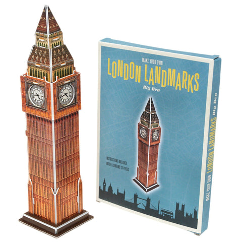 Make Your Own London Landmark - Big Ben