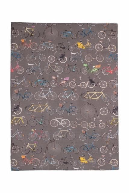 Bikes of Hackney Tea Towel