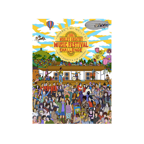 Where's My Welly? Festival Activity Book