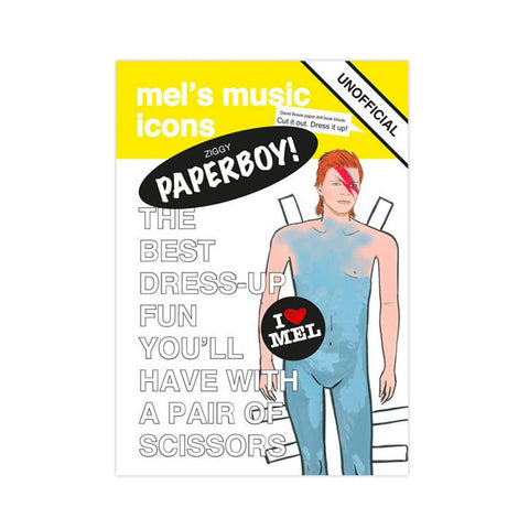 Bowie Paper Doll Book