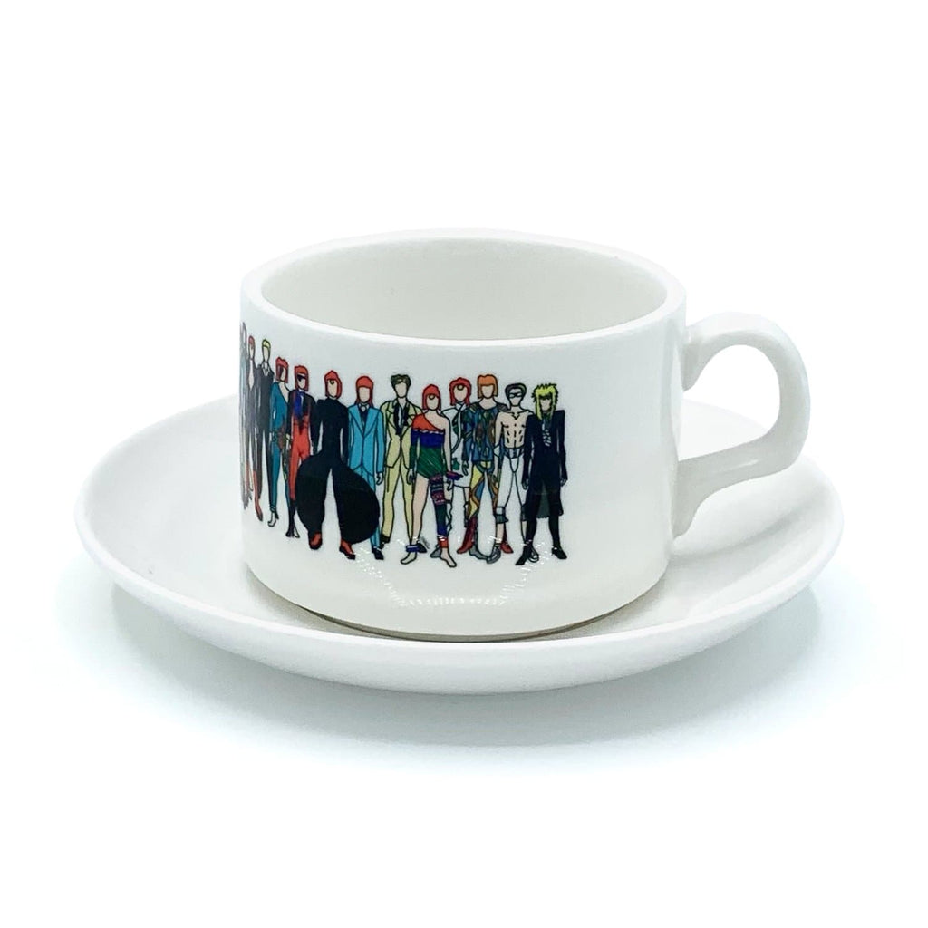david bowie cup saucer aladdin sane ziggy stardust for We Built This City 1