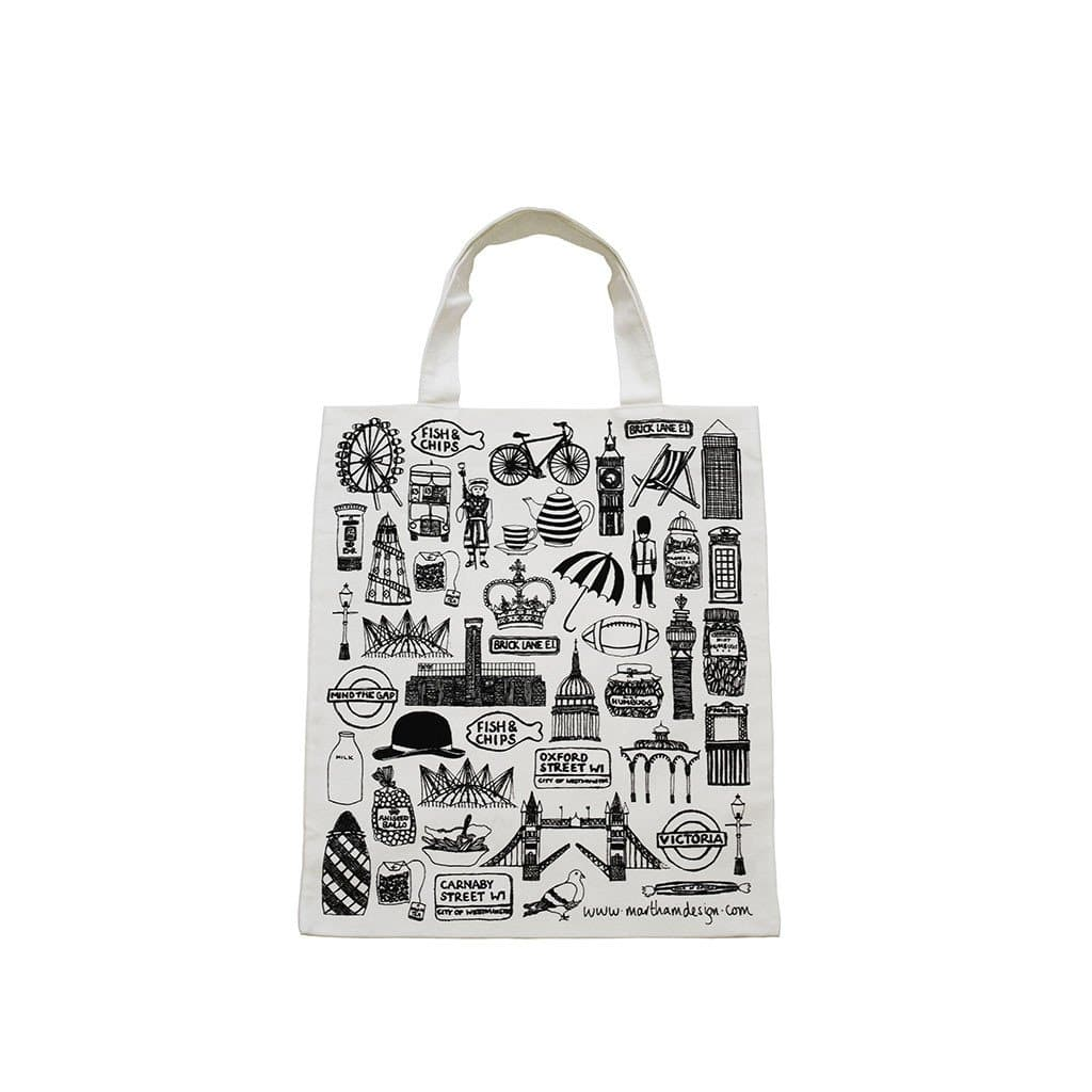 British Tote Bag Fashion - Tote Martha Mitchell for We Built This City 1